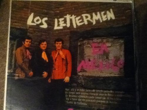 disco acetato: los lettermen en mexico