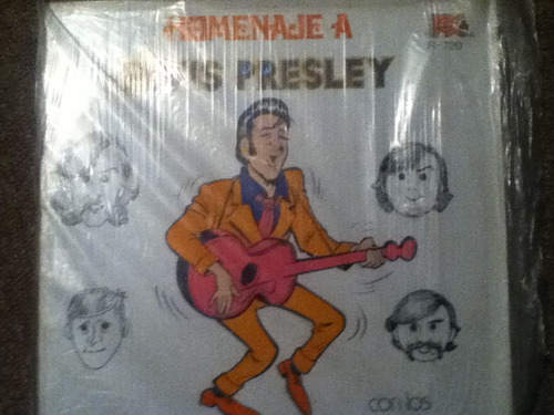 disco acetato: loud jets homenaje a elvis presley