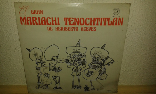 disco acetato nuevo de el mariachi tenochtitlan d heriberto