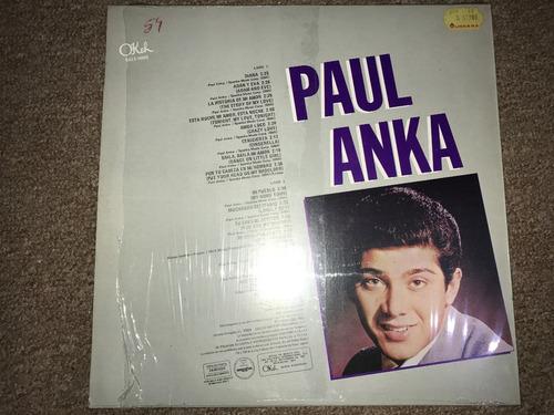 disco acetato: paul anka
