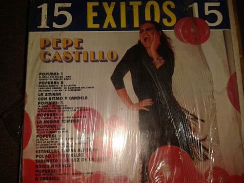disco acetato: pepe castillo