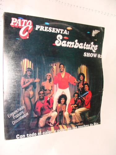 disco acetato sambatuke show 82