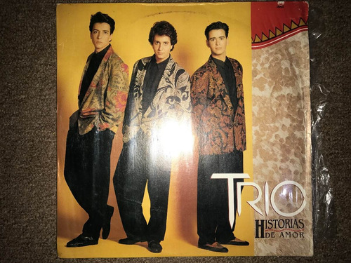 disco acetato: trio historias de amor