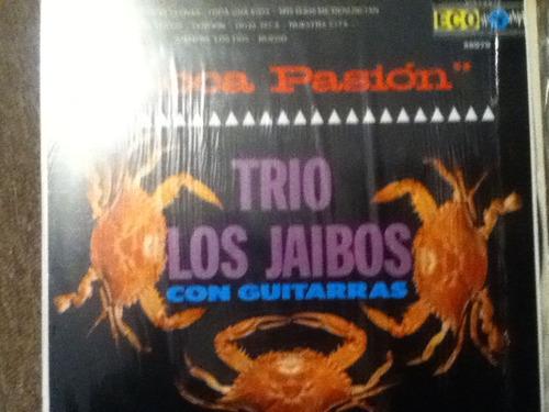 disco acetato: trio los jaibos