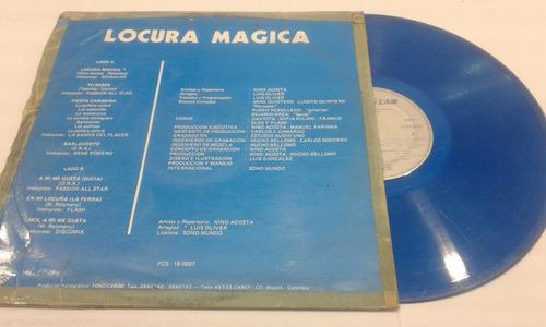 disco acetato vinilo lp locura magica