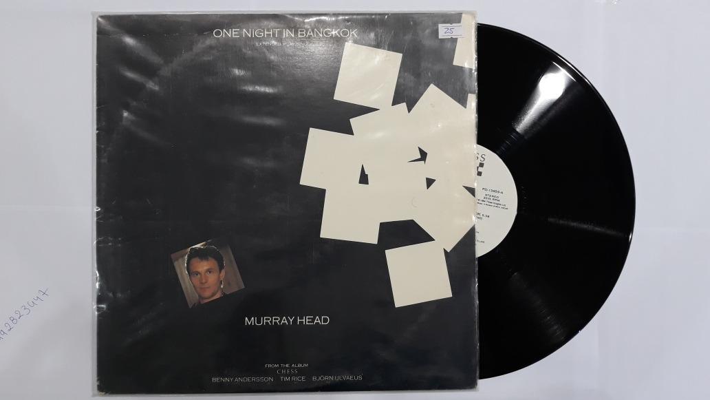 Disco Acetato Vinilo Lp Murray Head - U$S 20,00 en Mercado Libre
