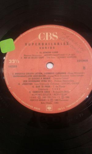 disco acetato vinilo lp super bailables vol. 7