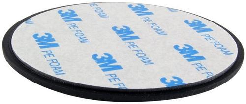 disco adhesivo original 3m 70 mm soporte gps celular auto