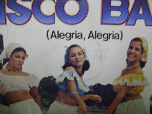 disco antigo vinil lp disco baby vol. 3 filme vamos cantar