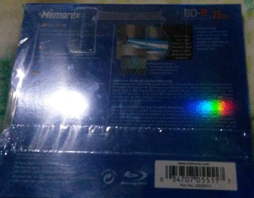 disco blu-ray virgen memorex