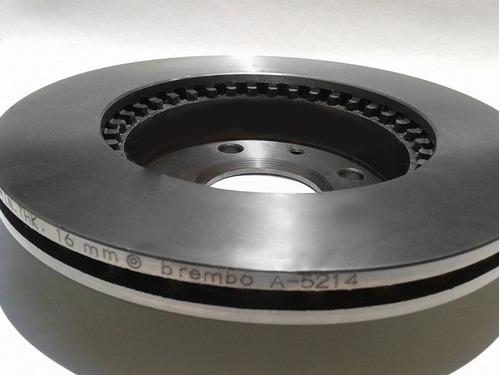 disco brembo ventilado trasero audi a3 3.2l s3 2006 -