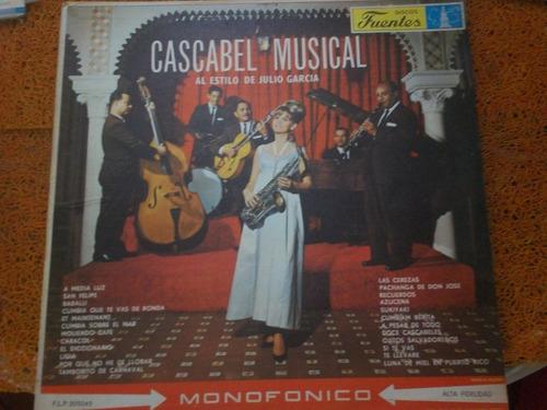 disco  cascabel musical  (años 60s) discos fuentes