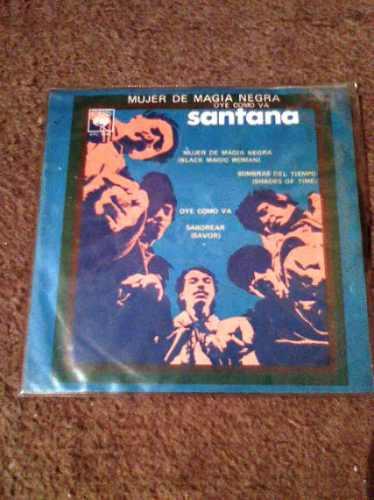 disco chico 45 rpm de santana