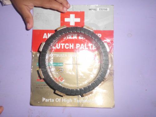 disco clutch 6 piezas cg150