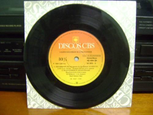 disco compacto de vinil - 4 super sucessos internacionais