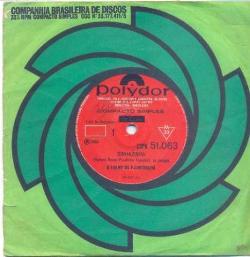 disco compacto de vinil - a turma da pilantragem - 1969