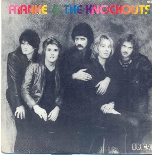 disco compacto de vinil - franke & the knockouts - 1982