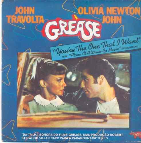 disco compacto de vinil - grease - 1978 - john travolta