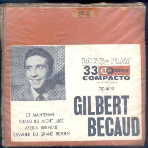 disco compacto de vinil lp gilbert becaud