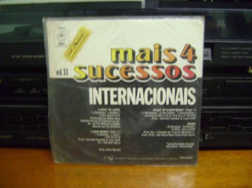 disco compacto de vinil - mais 4 sucessos internacionais
