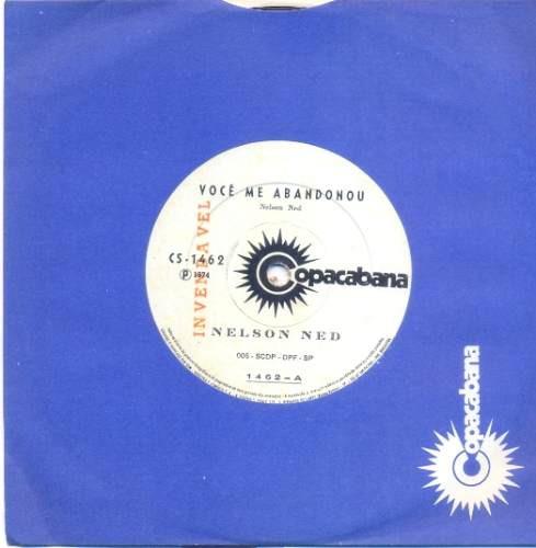 disco compacto de vinil - nelson ned - 1974