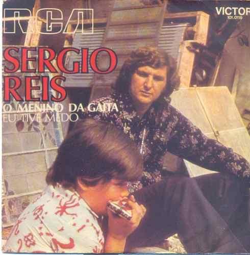 disco compacto de vinil - sergio reis - 1973