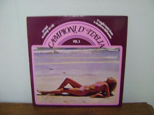 disco compacto lp vinil campioni d'italia v 3 se vuoi 1978