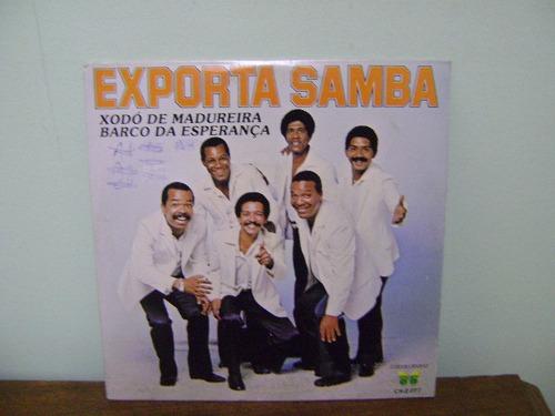 disco compacto lp vinil exporta samba xodó madureira 1983