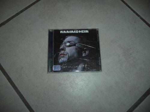 disco compacto rammstein sehnsucht
