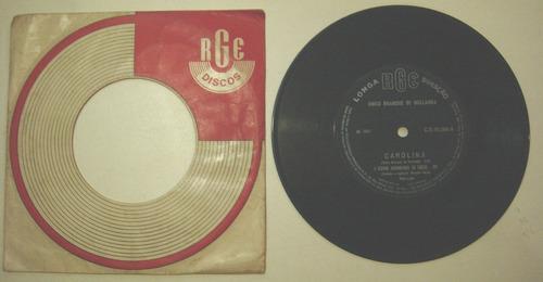 disco compacto simples -chico buarque de holanda -carolina