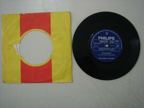 disco compacto simples-  chico buarque de holanda-desalento