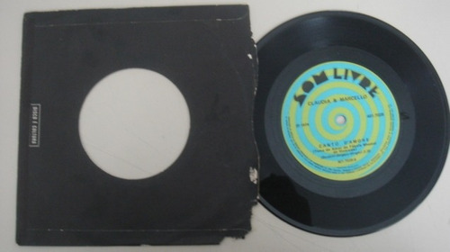 disco compacto simples - claudia e marcelo -1974