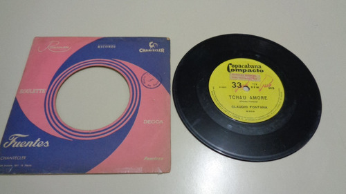 disco compacto simples- claudio fontana-tchau amore