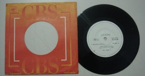 disco compacto simples - elza soares -1980