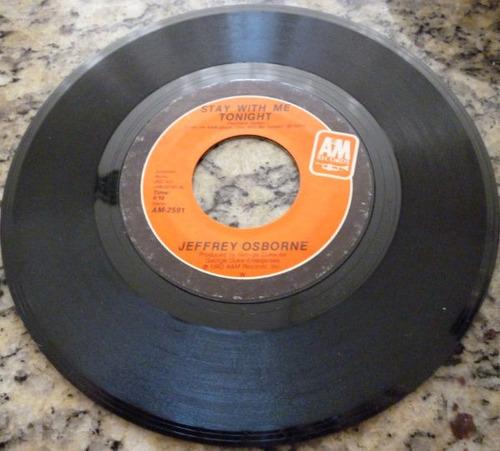 disco compacto simples - jeffrey osborne
