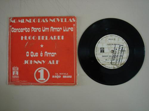disco compacto simples - johnny alf / hugo belard