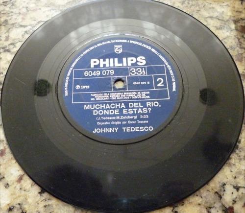 disco compacto simples - johnny tedesco