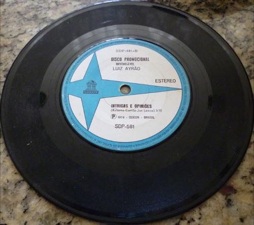 disco compacto simples - luiz ayrão