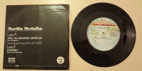 disco compacto simples - maria medalha  1978