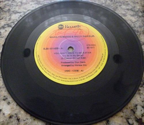 disco compacto simples - marilyn mc'coo e billy davis jr.
