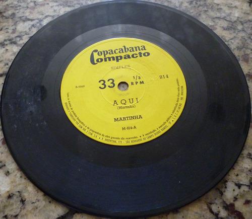disco compacto simples - martinha