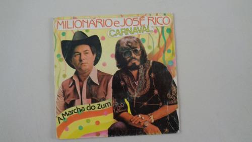 disco compacto simples -milionário e josé rico-a marcha do