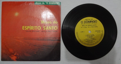 disco compacto simples- missa do espirito santo-canto de com