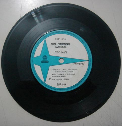 disco compacto simples - tito madi