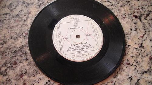 disco compacto simples - titulares do ritmo