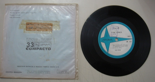 disco compacto simples - tom jones