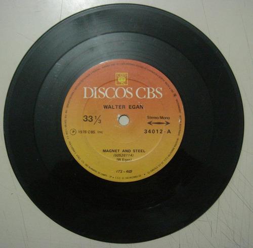 disco compacto simples - walter egan
