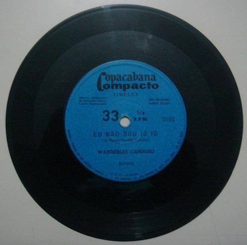 disco compacto simples - wanderley cardoso