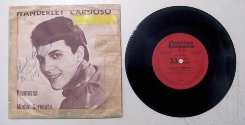 disco compacto simples -wanderley cardoso- promessa