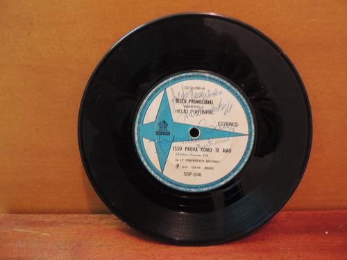 disco compacto vinil hélio portinhal eu prometi 1975